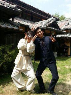 joo won and park ki woong -- bridal mask