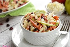 Carrot Apple Slaw