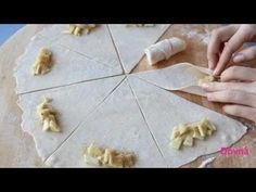 яблочные рогалики рецепт - YouTube