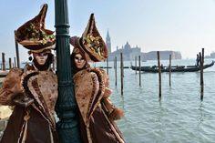 Prefeito garante máscaras no Carnaval de Veneza. (foto: ANSA)