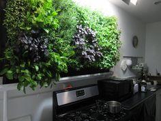 22 DIY Indoor Herb Wall Garden Ideas - Art and Decoration