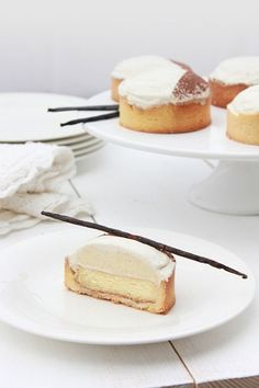Heavenly French Dessert………Vanilla Tartlets Pierre Hermé! See more french inspiration at thefrenchinspiredroom.com /