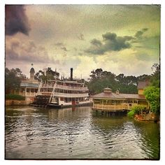 #13 take a river boat ride in Magic Kingdom
