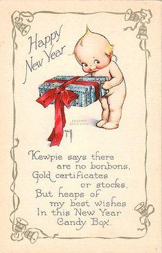 Vintage Kewpie Postcard