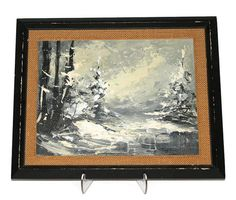 Lovely Original Impressionist Oil Painting of a by VintageStoutcat