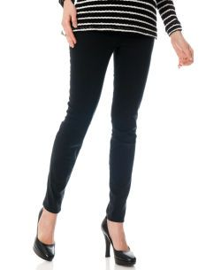 Secret Fit Belly Sateen Signature Pocket Slim Leg Maternity Pants.