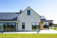 New Build In County Armagh Informasi dan tips mengenai rumah minimalis Modern Bungalow House, Bungalow Exterior, Bungalow Renovation, Modern Farmhouse Exterior, Dream House Exterior, Modern House Plans, Modern House Design, House Designs Ireland, Self Build Houses