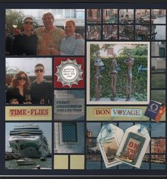 An embellished Mosaic Moments layout.