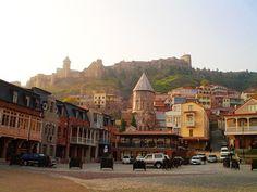 Narikala. Tbilisi. Georgia
