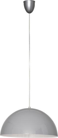 LAMPA wisząca HEMISPHERE S 5074 Nowodvorski metalowa OPRAWA ZWIS szary