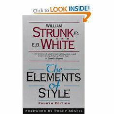 Ladda Ner och Läs På Nätet The Elements of Style, Fourth Edition Gratis Bok PDF/ePub - William Strunk, Jr., The Elements of Style is a prescriptive American English writing style guide in numerous editions. The original was. Writing Style Guide, Writing Styles, The Words, Writing Resources, Writing Tips, Creative Writing, Writing Lessons, Writing Process, Writing Workshop