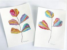 Watercolor Lettering, Abstract Watercolor, Cool Sketches, Feel Good, Rainbow, Feelings, Fun, Painting, Instagram