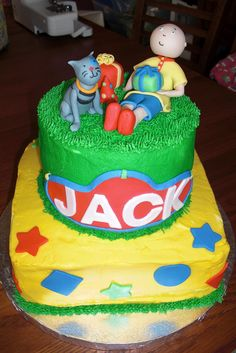 Caillou birthday party | Caillou Birthday Cake | Flickr - Photo Sharing!