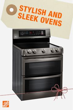 A double oven means double duty in the kitchen. Upgrade your range this season to breeze through holiday entertaining with easy-to-clean and quick-cooking innovations. Click to shop the best appliance brands at the best prices at The home Depot.