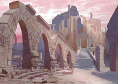 Chronicles of Atheria 'Kalenda Ruins' Commission 4 by jjpeabody.deviantart.com on @DeviantArt