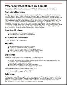 Veterinary Receptionist Resume Resume Examples Technician  Auto Collision Repair Sample Resume .