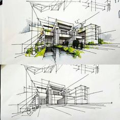 Image result for architecture sketches
