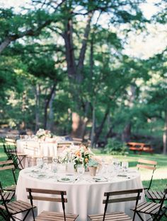 Intimate Peach and Mint Inspired Real Wedding