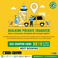 Are you heading to the airport? At Dialkiwi you can book your Private taxi in advance, get relax and we'll get you to the airport quickly and without stress. Book a trusted taxi in Auckland for a guaranteed fixed price, with instant confirmation. Get a quote today @dialkiwi.com