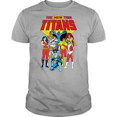 The New Teen Titans T Shirt, Hoodie, Sweatshirt