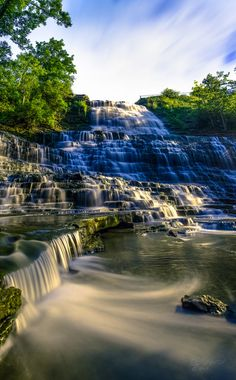 Albion Falls, Hamilton, Ontario, Canada.I want to go see this place one day.Please check out my website thanks. www.photopix.co.nz