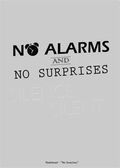 "Radiohead - ""No Surprises"" #terapiamusical"