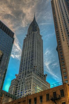 New York Architecture, Chrysler Building, Flatiron Building, Nyc, City Aesthetic, Kochi, Empire State Building, The Great Outdoors, Places To See