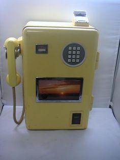 プッシュ式100円公衆電話機