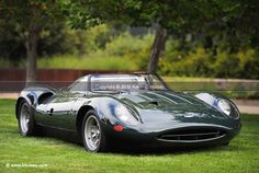 1966 #Jaguar XJ13 - What an amazing looking car. It's so low, too! #Classic #Gorgeous