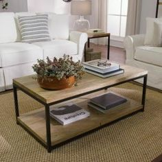 Home Decorators Collection Anjou Natural Coffee Table 8847500210 at The Home Depot - Mobile Home Depot, Natural Coffee, Decorating Coffee Tables, Coffee Table Decor Living Room, Home Furniture, Furniture Design, Plywood Furniture, Modern Furniture, Home Furnishings