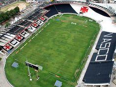 Estádio São Januário - Rio de Janeiro (RJ) - Capacidade: 21,9 mil - Clube: Vasco