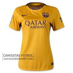 Segunda camiseta de Mujer Barcelona 2015 2016 | camisetas de futbol baratas