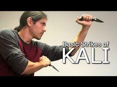 KNIFE DRILLS for Solo Training - Filipino Escrima Arnis Kali - YouTube