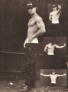 Marky Mark back in the day
