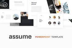 Assume PowerPoint Template + GIFT by Entersge on @creativemarket