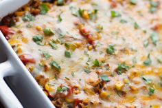 Koolhydraatarm Recept Gehakt Op Mexicaanse Wijze (TIP) Healthy Mexican Casserole, Healthy Casserole Recipes, Super Healthy Recipes, Oven Dishes, Roasted Corn, Mexican Food Recipes, Vegetarian Recipes, Bean Recipes, Mexican Dishes