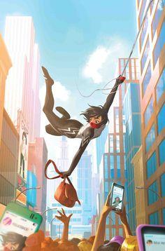 15 Marvel Jumping On Points For March 2017 Marvel Fan Art, Marvel Dc Comics, Marvel Heroes, Marvel Avengers, Spider Silk, Spider Art, Spider Verse, Silk Spiderman, Amazing Spiderman