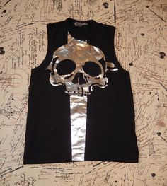 """LIP SERVICE Dead Beat Daggers """"Death Dealers"""" sleeveless shirt #M97-003"""