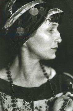 Moisei Solomonovich Nappelbaum  - Poet Anna Akhmatova, 1927
