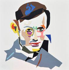Art By Tristan Tzara | Tristan Tzara by Oliver Watts