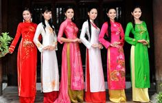 vietnames cultur, tunic, tradit cloth, traditional dresses, beauty, lao, trouser, aodai, ao dai