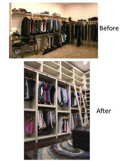 Dream Custom Master Closet--DIY!