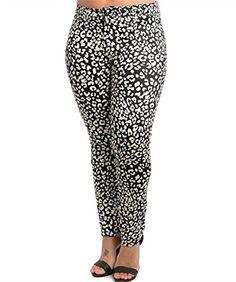 Fashion Bug Juniors Plus Size Destructed Capri Jean with Tropical ...