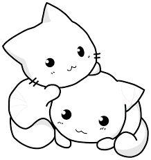 Resultado de imagem para animais domesticos para colorir gato