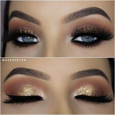 Makeup For A Gold And White Dress Beauty Tips Eye Makeup Makeup