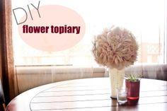 Aspen Summit: 14 days of love: flower topiary