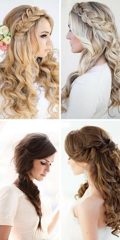 15 Timeless Bridal Hairstyles ❤ If you're still looking for a great hairstyle for your wedding, take a moment to consider these wonderfully simple and elegant styles that might just catch your fancy. See more: http://www.weddingforward.com/timeless-bridal-hairstyles/ #weddings #hairstyles