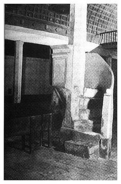 púlpito del hospital San Salvador