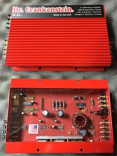 Dr. Crankenstein M-80 2 Channel 80 watt Amplifier. Made in USA