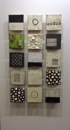 On the Wall at the ADD Show | Lori Katz Ceramic Design | Ceramic Wall Art